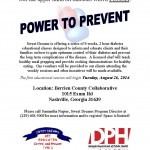 Power to Prevent August 2014-Berrien